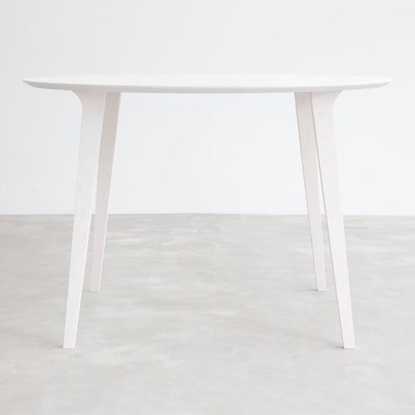 Stůl z běleného jasanu Stua Lau, 90cm