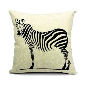 Polštář Zebra, 45x45 cm