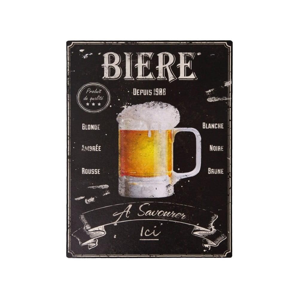 Plechová cedule Antic Line Biere