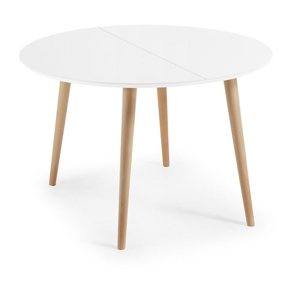 Rozkládací jídelní stůl La Forma Oakland, délka120-200cm
