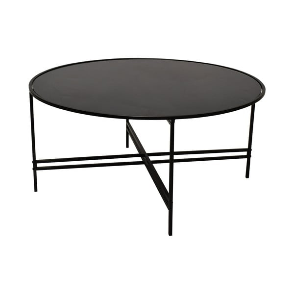 Czarny stolik szklany RGE Maison