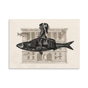 Plakát Impromptu od Florenta Bodart, 30x42 cm