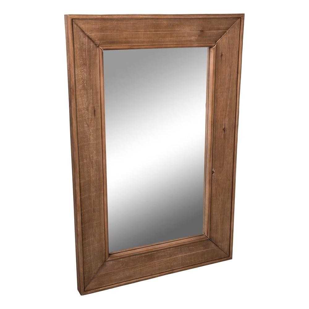 Zrcadlo s dřevěným rámem Antic Line Miroir, 97,5 x 65 cm