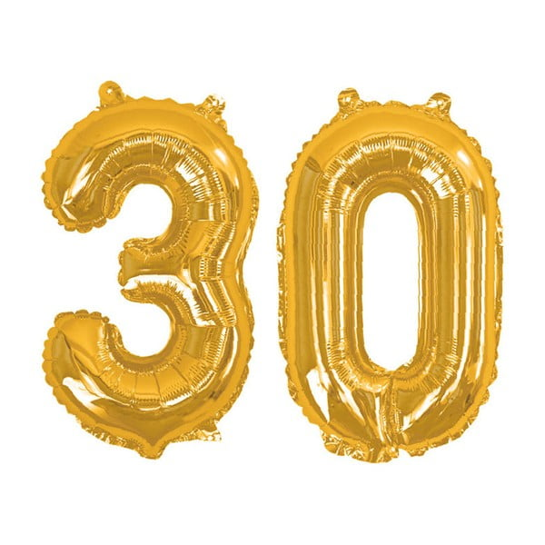 Balónek s číslem 30 Neviti Gold