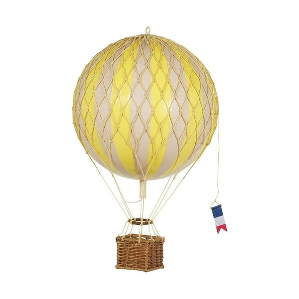 Model balónu Travels Light, žlutý