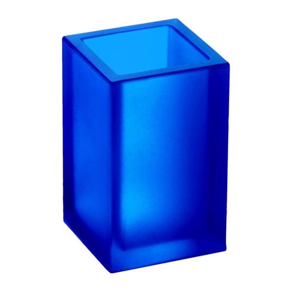 Nerozbitná váza Ivasi Medium, transparentní modrá