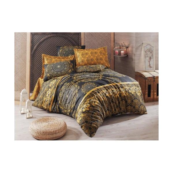 Lenjerie de pat cu cearșaf Sehri-Ala, 200 x 220 cm