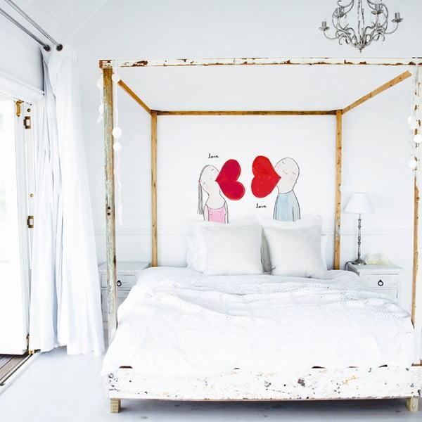 Samolepka Love Him, Love Her ,41x57 cm