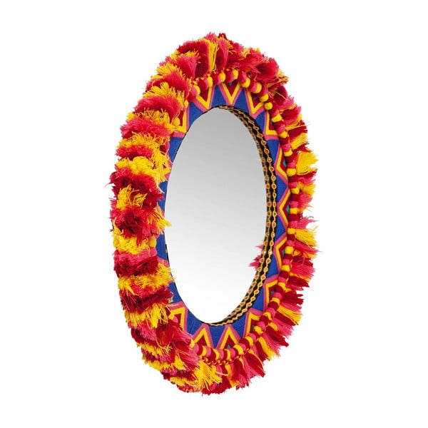 Nástěnné zrcadlo Kare Design Flick Flack, ⌀54cm
