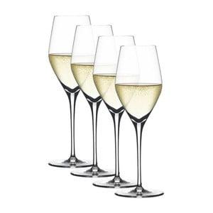 Set 4 pahare pentru șampanie Champagnes