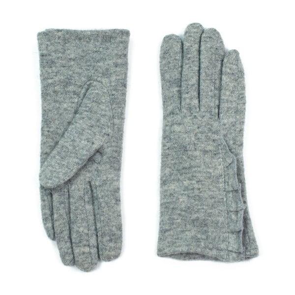 Šedé rukavice Jeanne