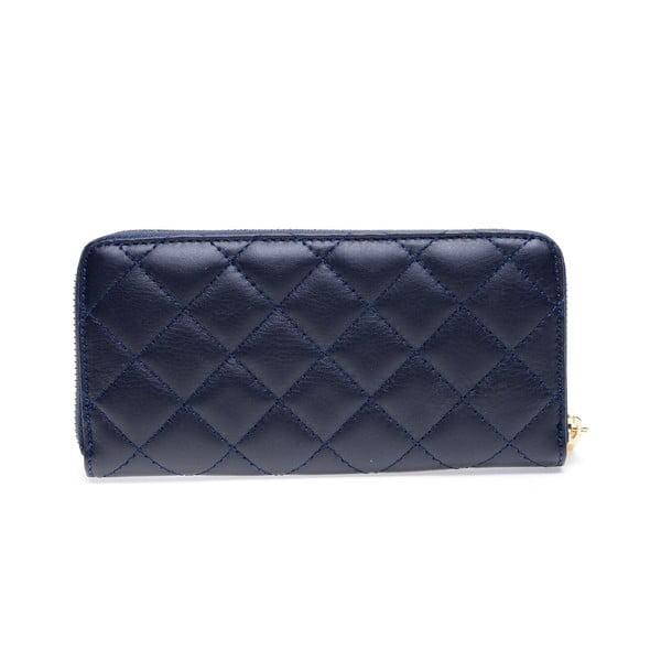 Modrá kožená peněženka Roberta M Adelina
