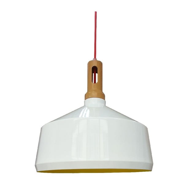Závěsné světlo Robinson III, bílé