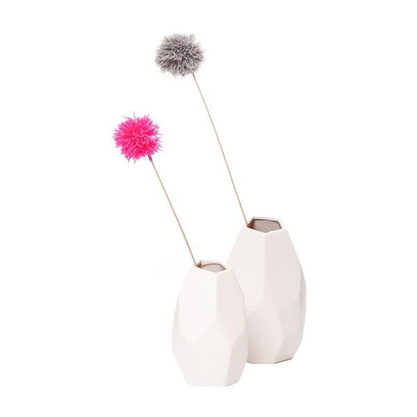Váza Geo White Small