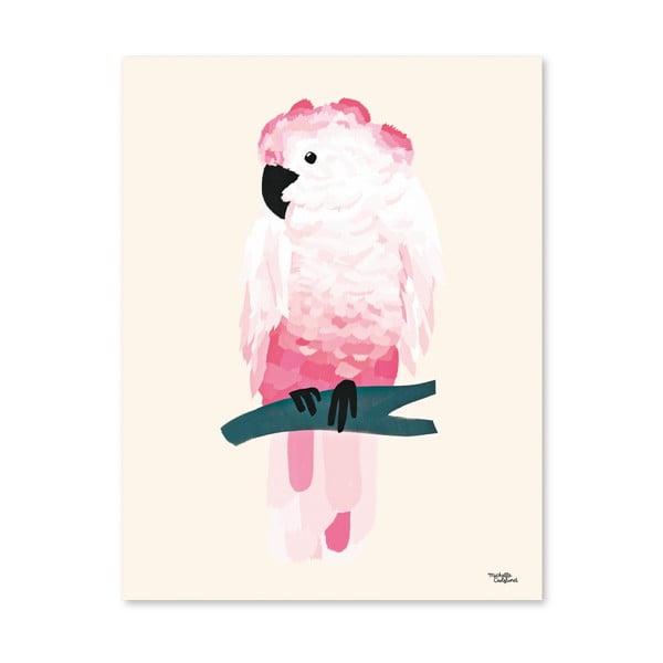 Plakát Michelle Carlslund Pink Cockatoo, 50x70cm