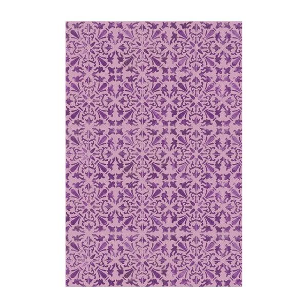 Vinylový koberec Carmen Lila, 133x200 cm