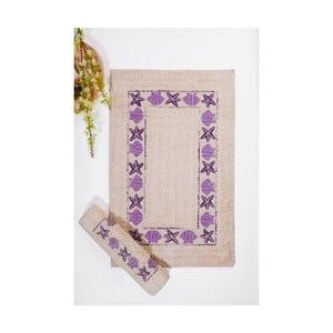Set koupelnových předložek II, Cream Lilac