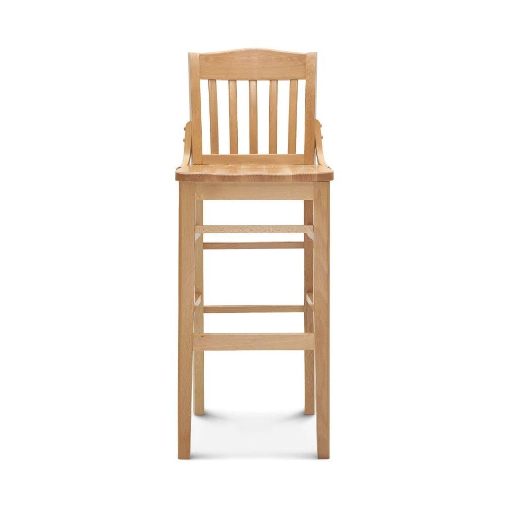 Barová dřevěná židle Fameg Hrok