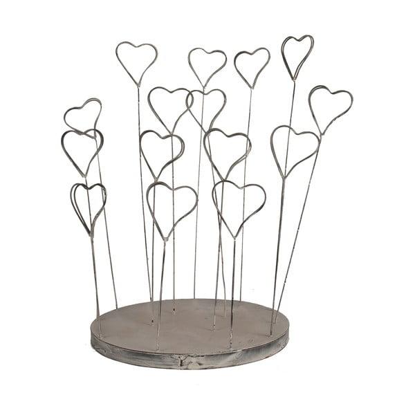 Drátěný Cardholder Hearts