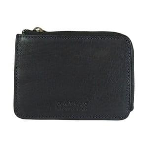 Tmavě modrá kožená peněženka O My Bag Zip Coin