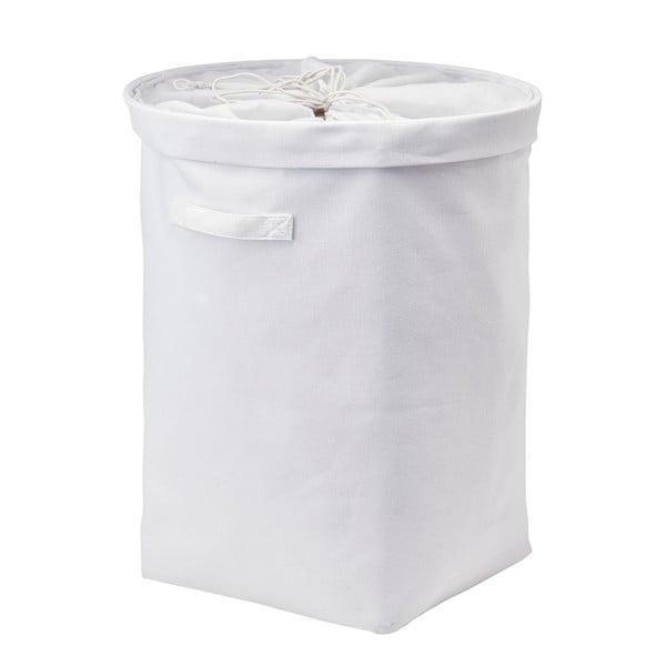 Koš na prádlo Tur, bílý