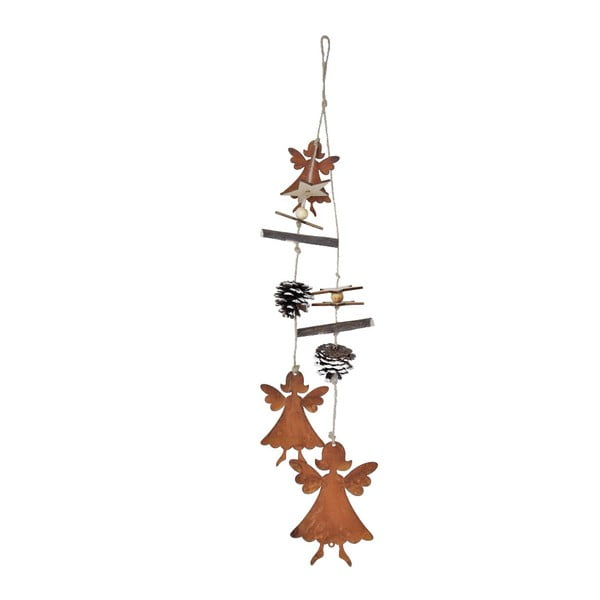 Závěsná vánoční dekorace s anděly Ego Dekor Lousi,výška54cm