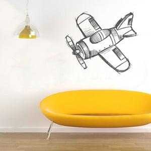 Samolepka Letadlo, 70x60 cm
