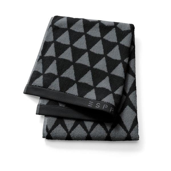 Osuška Esprit Mina 70x190 cm, černá