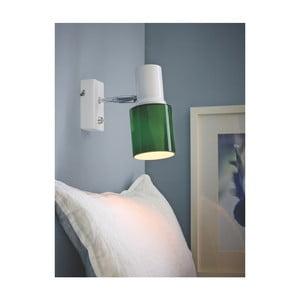 Zelené nástěnné svítidlo Herstal Orbit Green