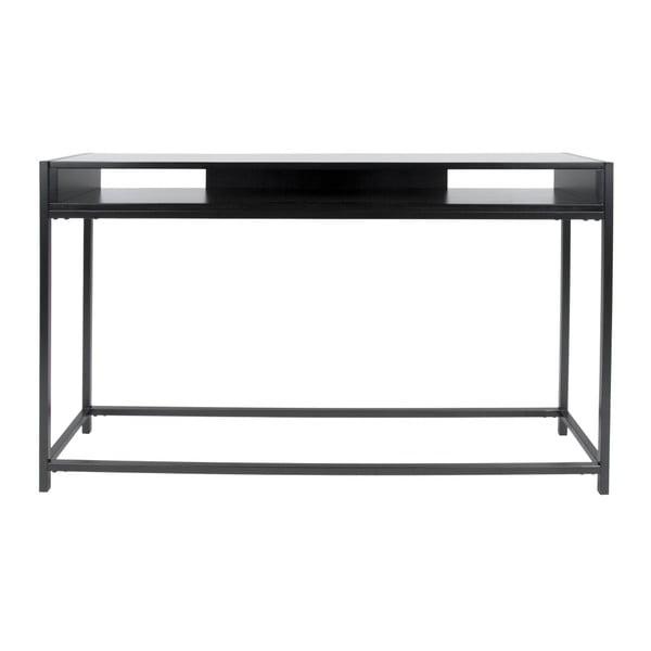 Černý konzolový stolek Leitmotiv Fushion