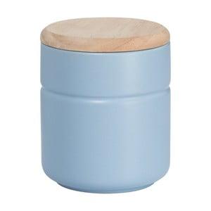 Modrá keramická dóza Maxwell&Williams Tint, výška 12,5 cm
