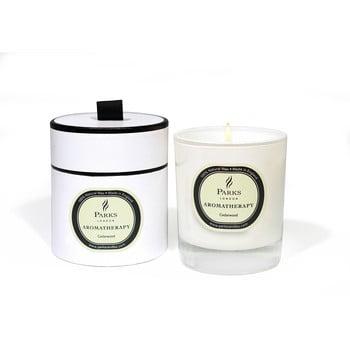 Lumânare parfumată Parks Candles London Aromatherapy, aromă de lemn de cedru, durată ardere 45 ore imagine