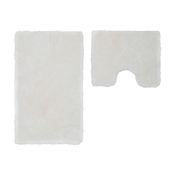 Sada 2 koupelnových předložek s výkrojem Spotlight White