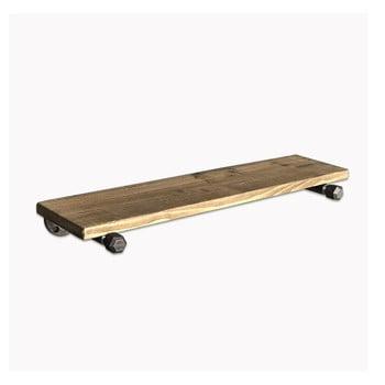 Set 3 rafturi din lemn pentru perete Pippe