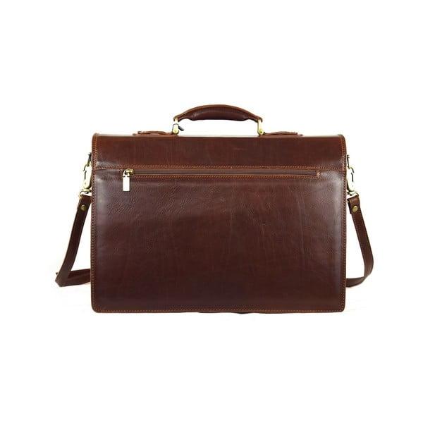 Kožená taška Santo Croce VL8246 Brown