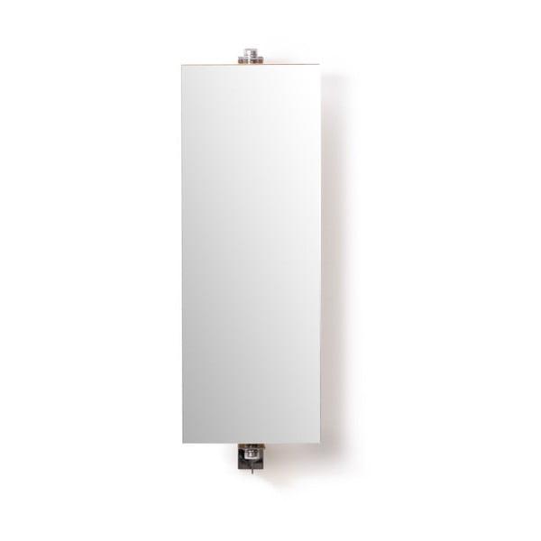 Koupelnová skříňka se zrcadlem Wireworks Domain Bamboo, výška 71 cm