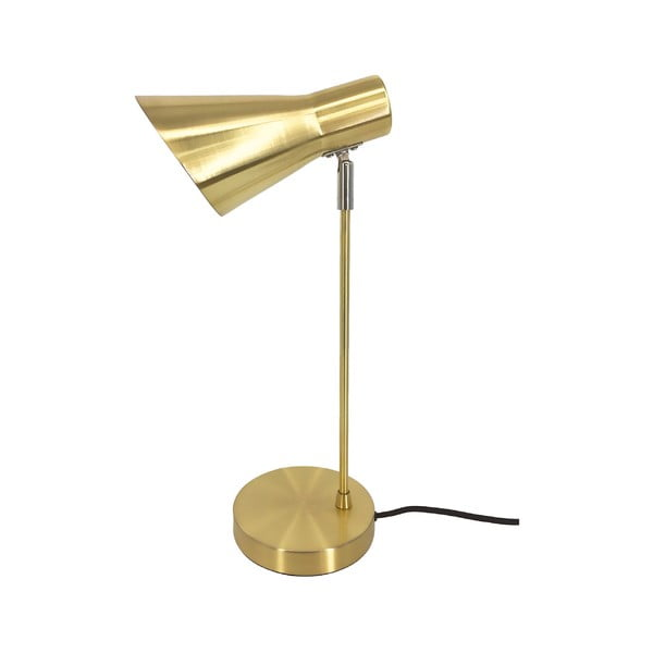 Pozłacana lampa stołowa Leitmotiv Beaufort