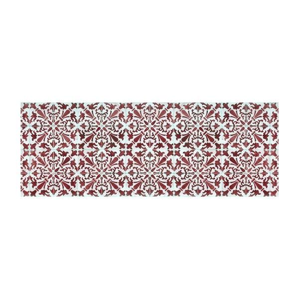 Vinylový koberec Carmen Rojo, 66x180 cm