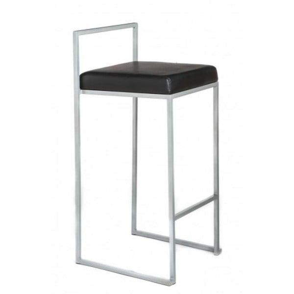 Sada 2 barových stoliček Dodo, černá