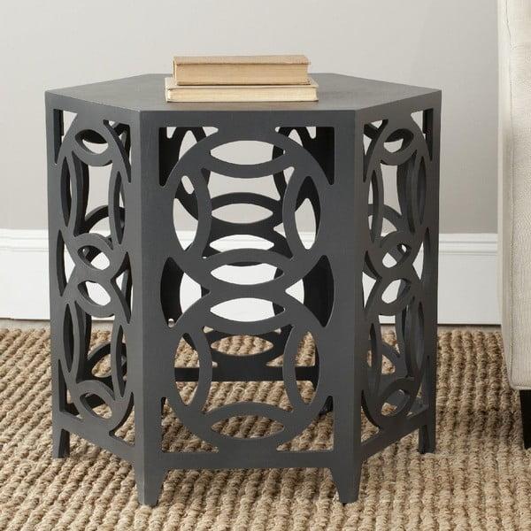 Odkládací stolek Noah, šedý