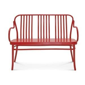 Červená lavice Fameg Runi