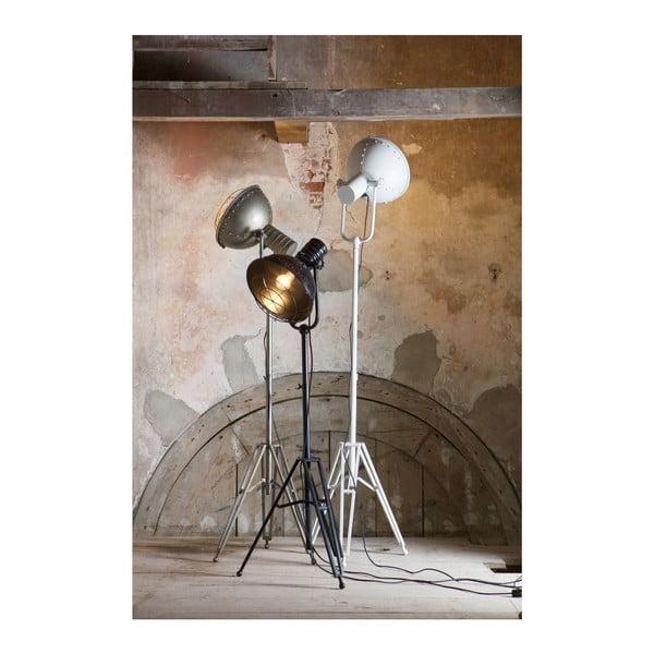 Bílá stojací lampa BePureHome Spotlight