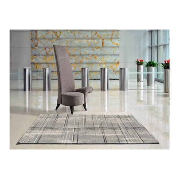 Šedý koberec Universal Nagoya Grey, 120x170cm