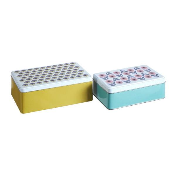 Joni ón tárolódoboz készlet, 2 részes, 13 x 20 cm - Premier Housewares