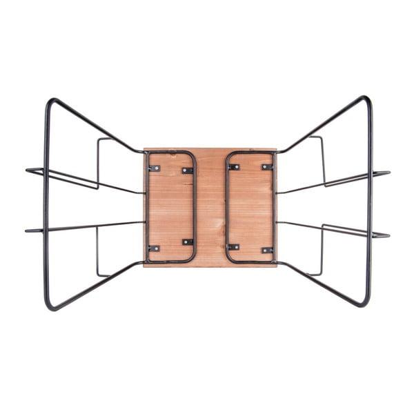 Odkládací stolek s možností uložení časopisů Leitmotiv Wired