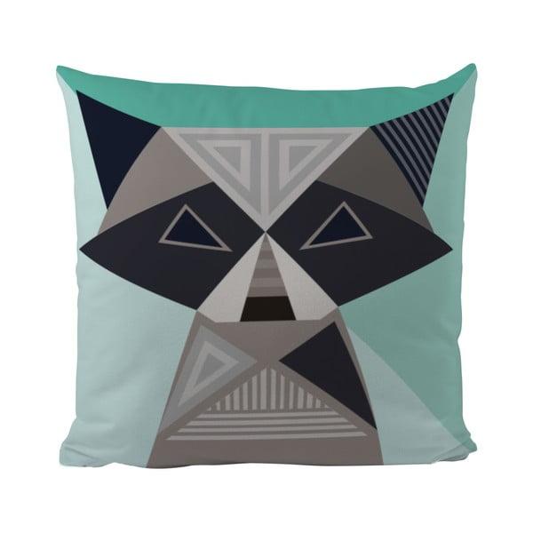 Polštář Geometric Raccoon, 50x50 cm