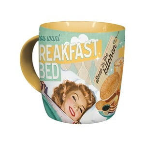 Cană ceramică Postershop Breakfast