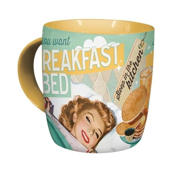 Keramický hrnek Postershop Breakfast