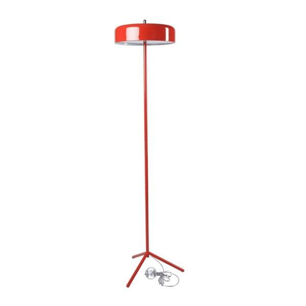 Lampa Plate, červená