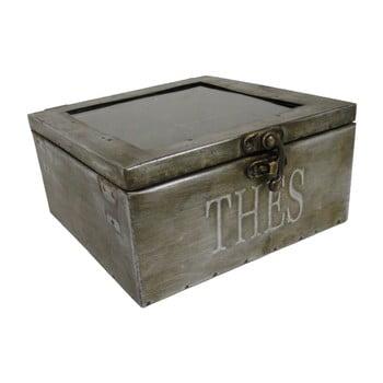 Cutie pentru ceai, metal, Antic Line Zinc de la Antic Line